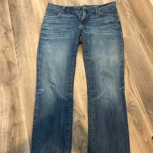 Gap Boyfriend Darkwash Denim Jeans Size 30